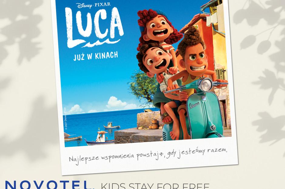Novotel  łączy siły z Pixarem i firmą Disney