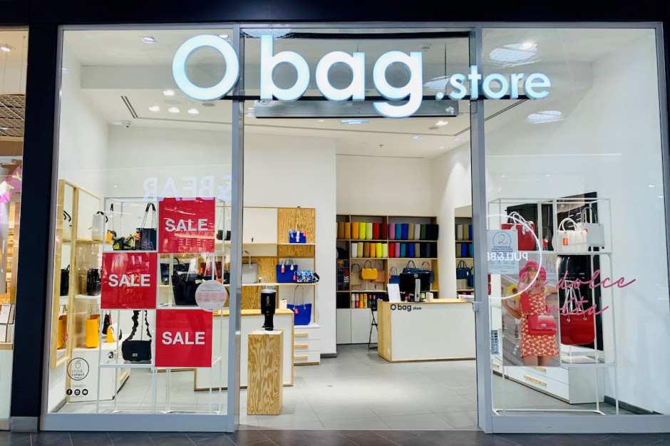 O bag wchodzi do Atrium Targówek. To jedyny sklep w Warszawie