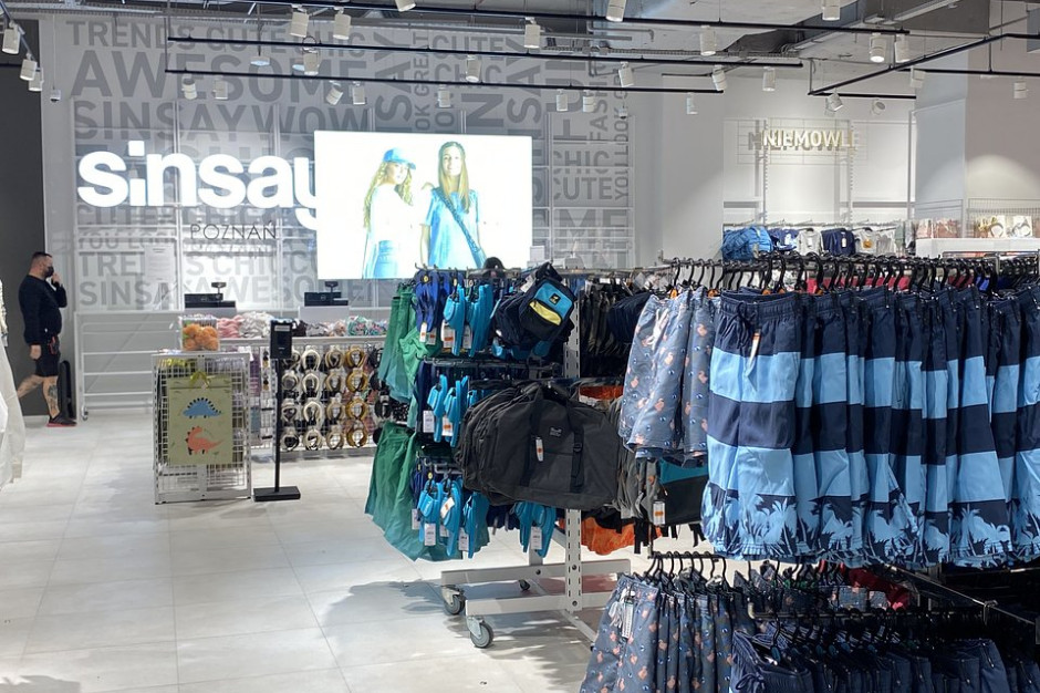 Sinsay potroił metraż salonu w Avenidzie Poznań