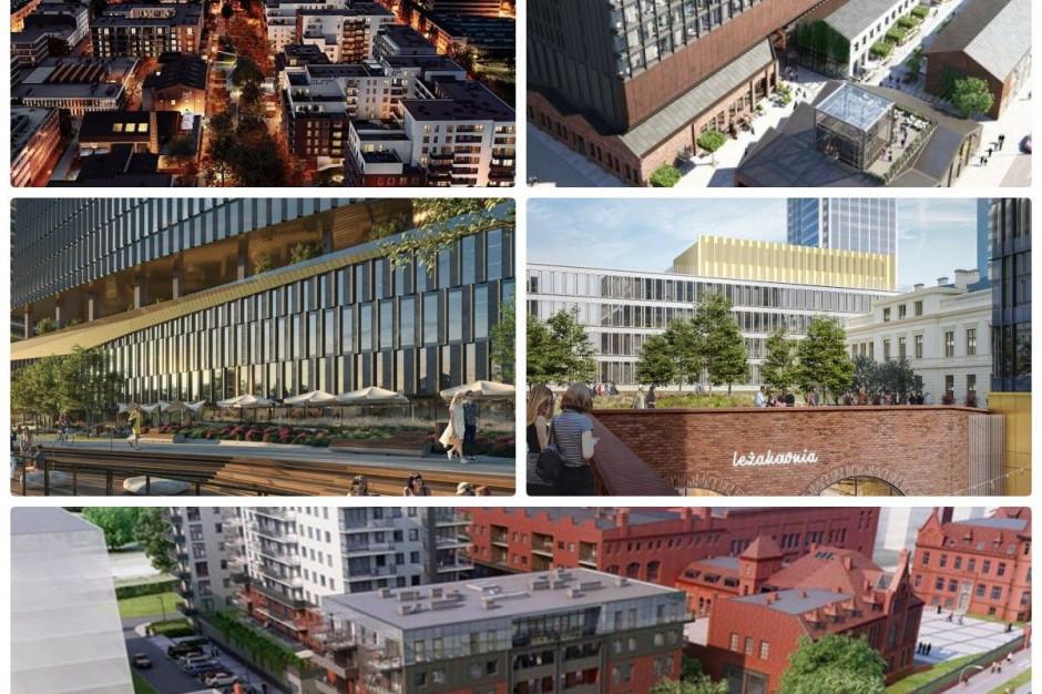 Największe projekty mixed-use w Polsce. Zobacz mapę inwestycji
