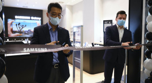 Najnowszy Samsung Store przyjął pierwszych klientów w Bonarce
