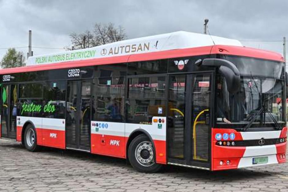 Nowe, elektryczne autobusy w Częstochowie