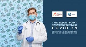Płockie Atrium Mosty zaprasza na szczepienia przeciw covid-19