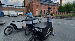 Pierwsze rowery cargo trafiły do łódzkich przedsiębiorców