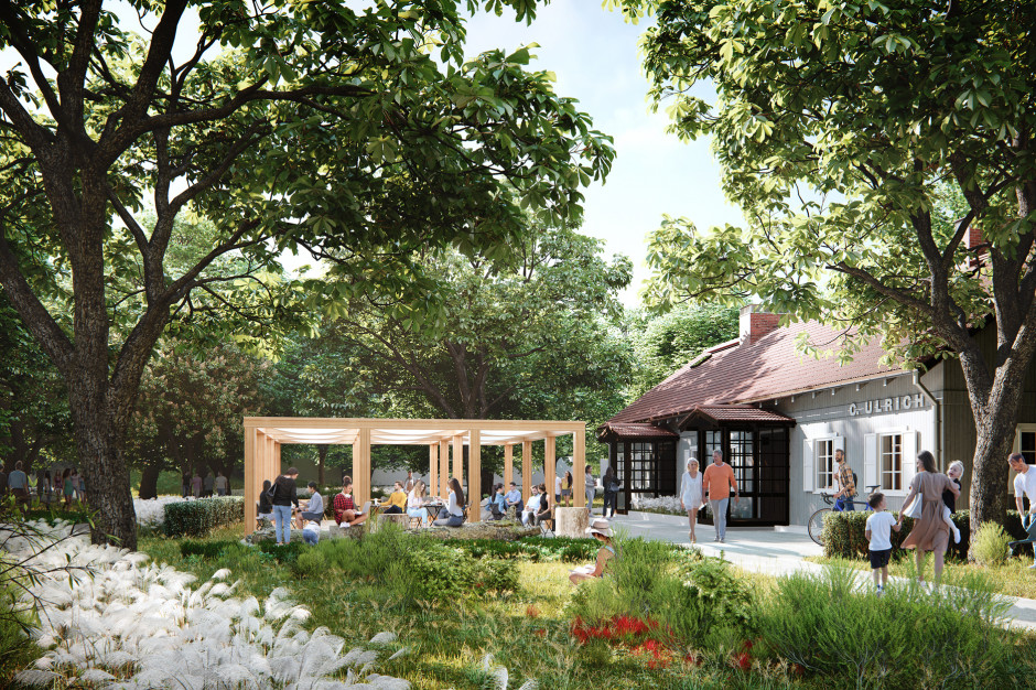 Ogrody w sąsiedztwie Wola Parku odżyją. Rusza drugi etap inwestycji