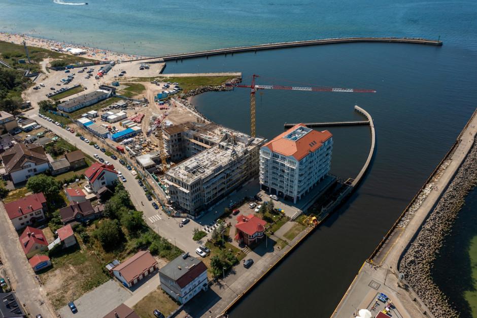 Drugi etap Marina Royale w Darłowie wkrótce pod dachem