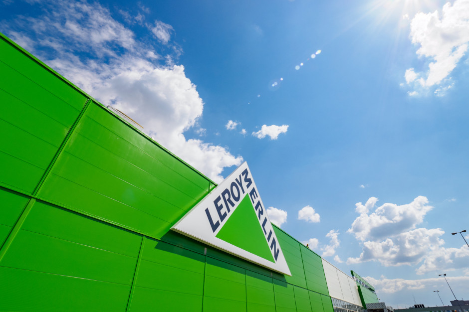 Szybki rozwój sieci Leroy Merlin