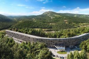 Ten hotel ma być najnowocześniejszym kompleksem wypoczynkowym w Beskidach