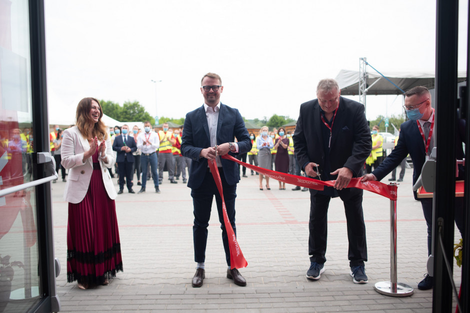 TJX Europe wprowadza się na chwilę do centrum dystrybucyjnego Panattoni w Nowym Kisielinie