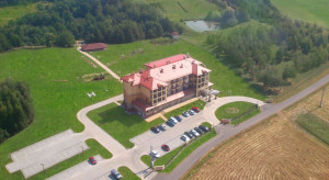 Hotel Splendor k. Rzeszowa wystawiono na sprzedaż