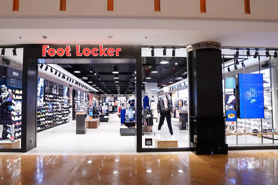 Amerykańska marka sportowa Foot Locker podbija nowe rynki
