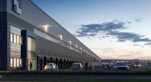 Potężne centrum logistyczne przy węźle łączącym autostrady A1 i A2