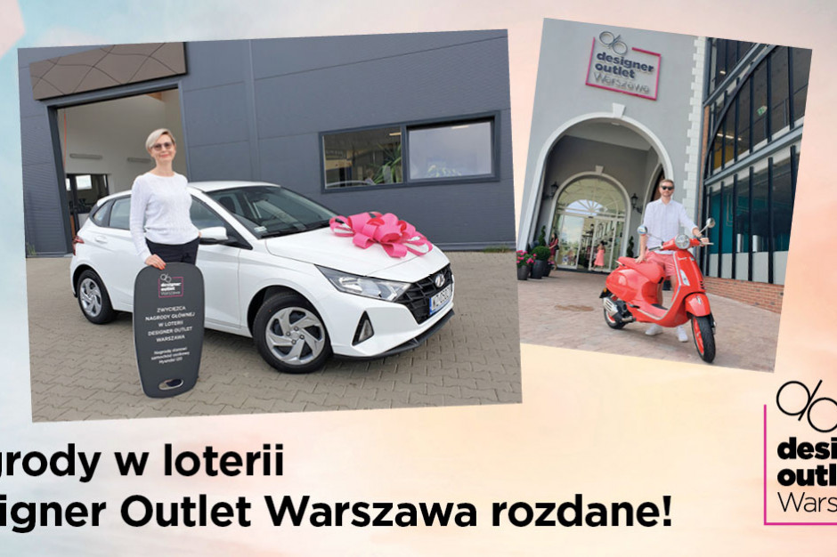 Designer Outlet Warszawa rozdał nagrody w loterii