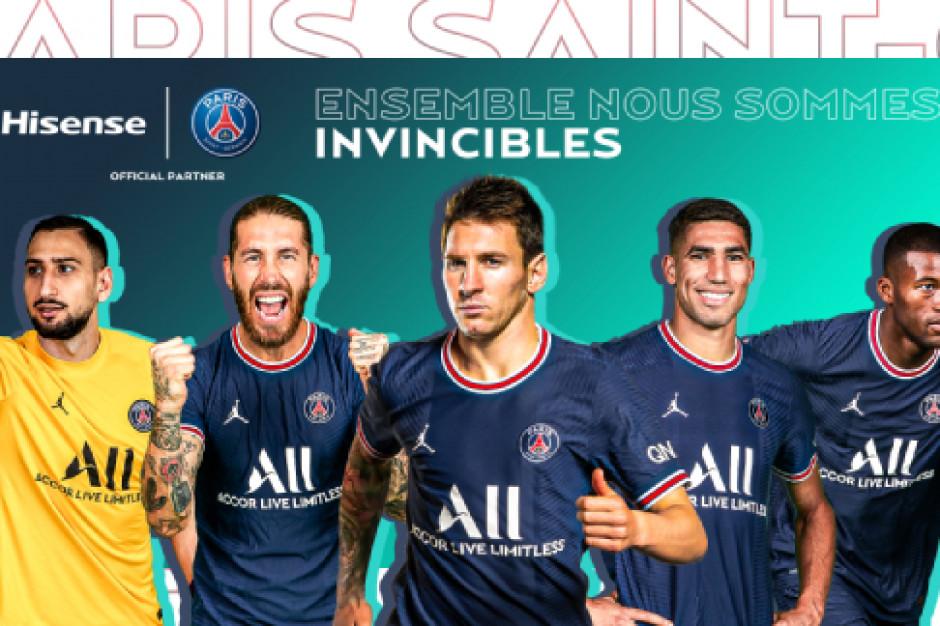 Hisense postawił na Paris Saint-Germain