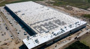 Fotowoltaika na połowie dachu nowego obiektu logistycznego LPP