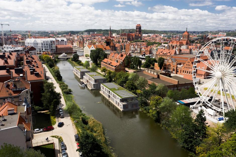 Gdańsk zyska hotel na wodzie. Pierwszy taki w Polsce