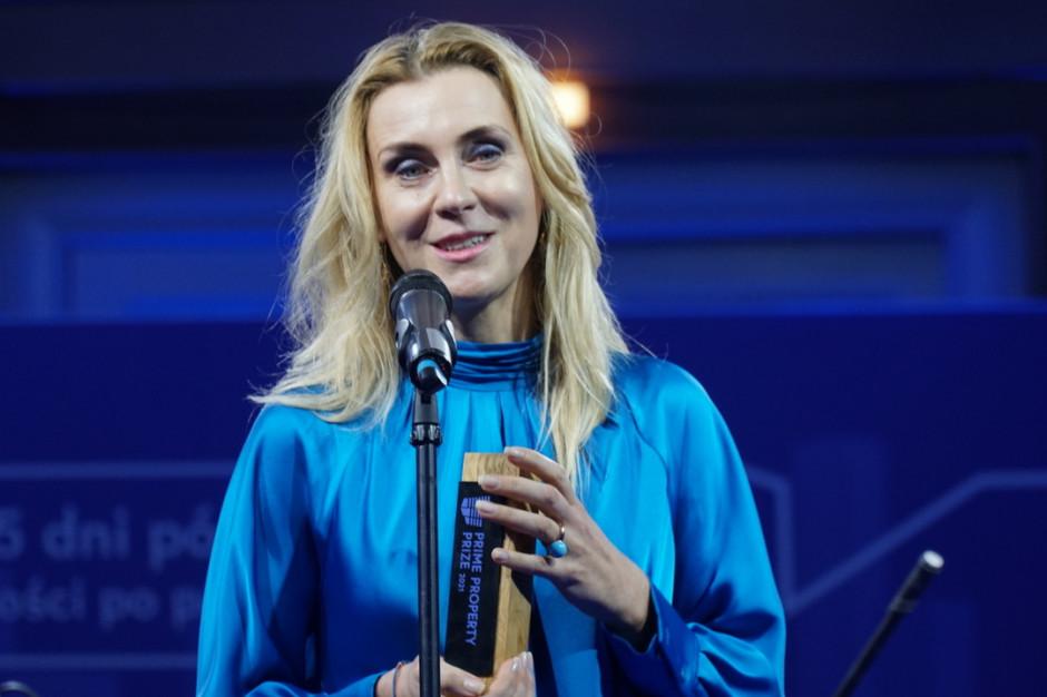 Monika Rajska-Wolińska Człowiekiem Roku w plebiscycie Prime Property Prize 2021