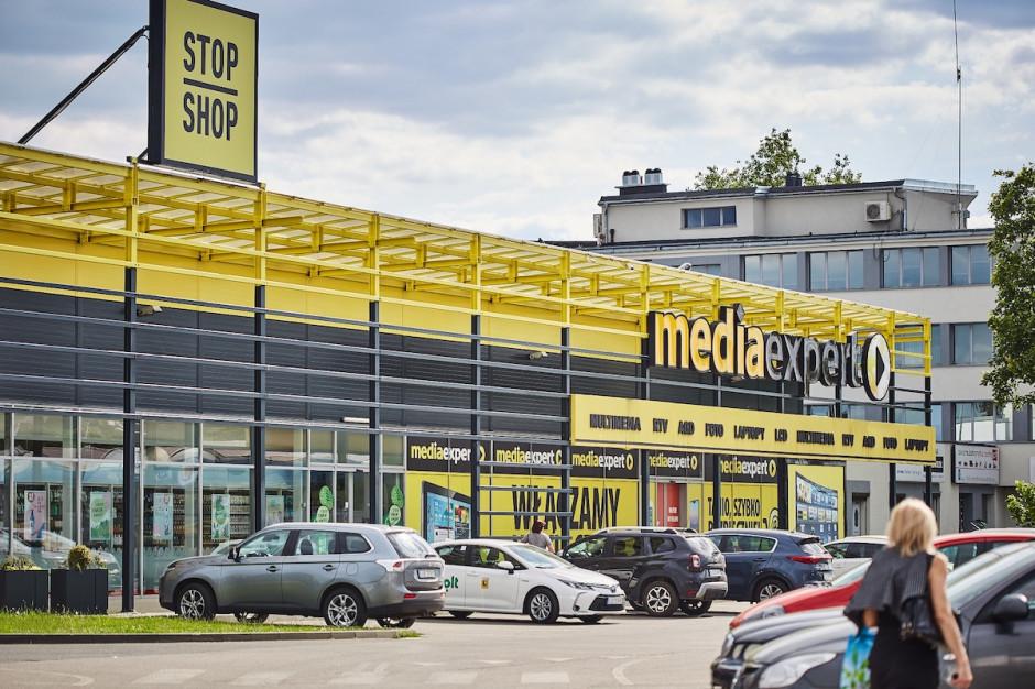 Wszystkie parki handlowe Stop Shop z kompletem najemców