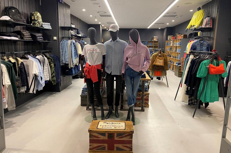 Pepe Jeans na liście najemców centrum handlowego Blue City