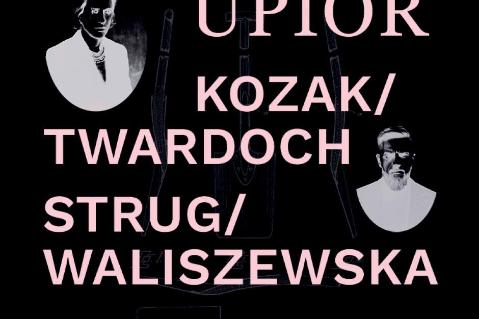 Szczepan Twardoch i Łukasz Kozak w Hali Koszyki