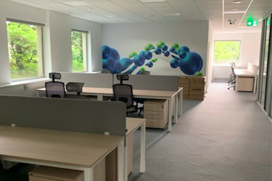 Biuro Baxter w nowej odsłonie. Tak Interbiuro modernizuje powierzchnie