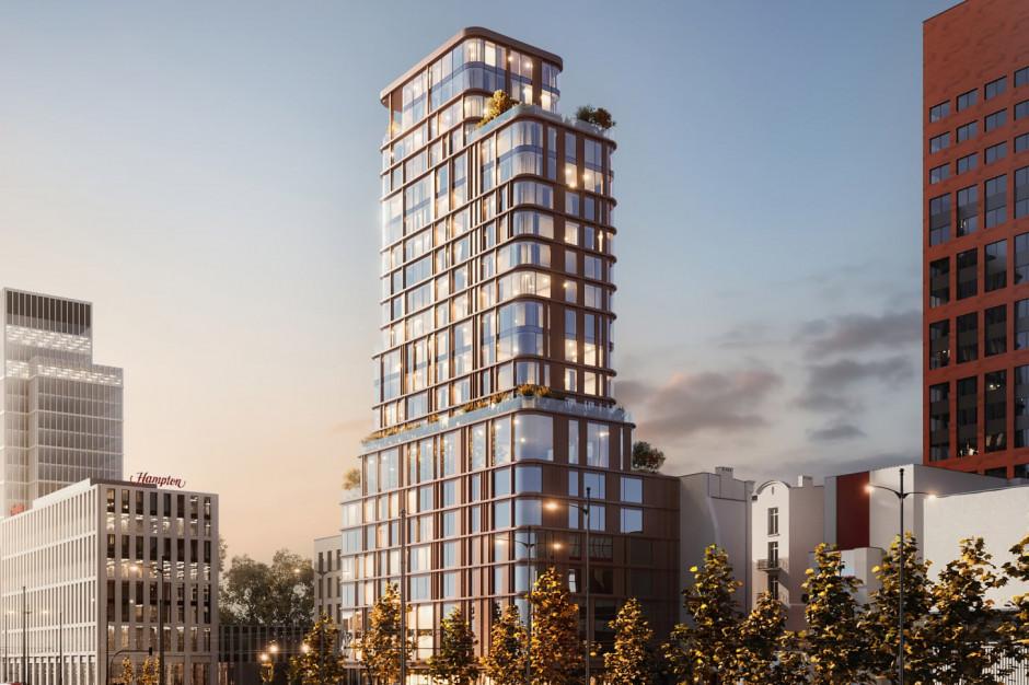 Mieszkania zamiast hotelu? Piotr Misztal ma nowy pomysł na wieżę w centrum Łodzi