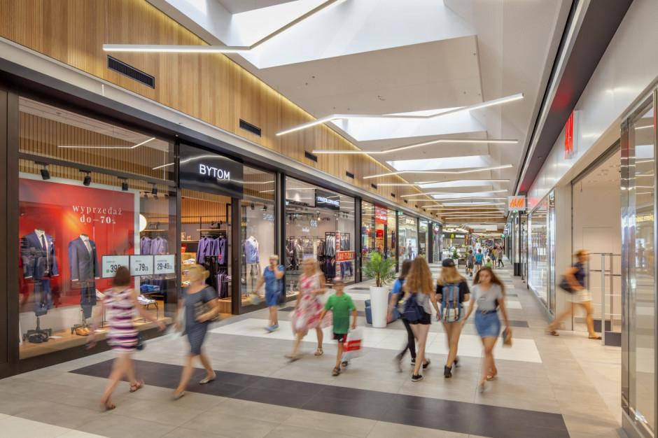 Centra handlowe na dwucyfrowych obrotach