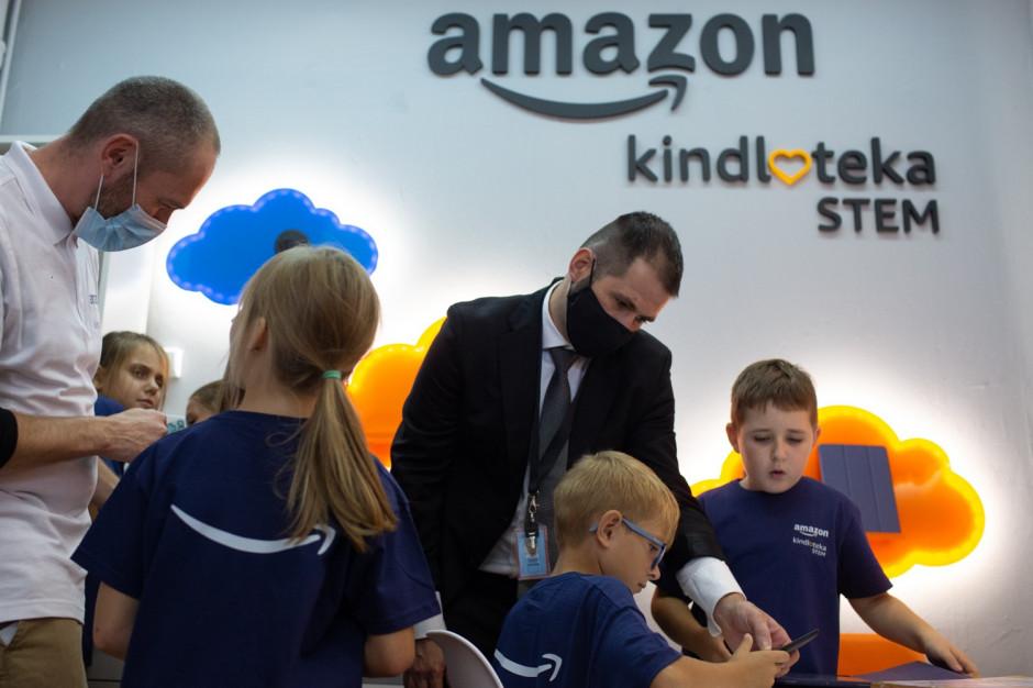 Amazon otwiera w Polsce STEM Kindloteki
