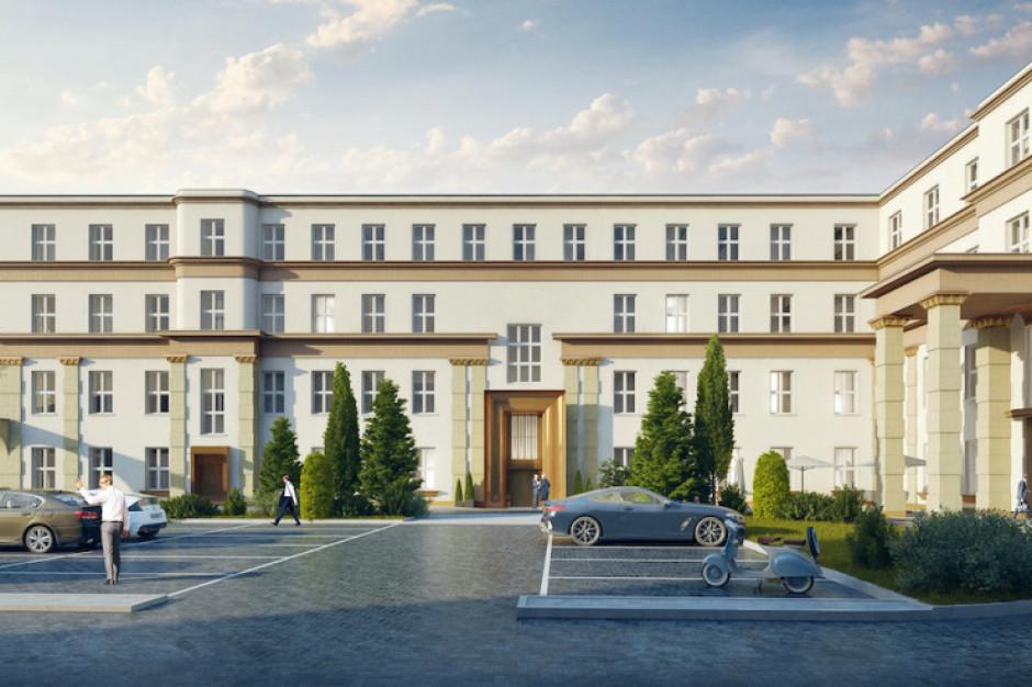 Aiden by Best Western zamiast hotelu Reymont - znamy szczegóły inwestycji