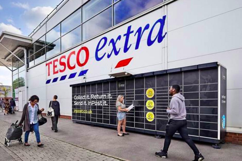 InPost ruszy na podbój Wielkiej Brytanii. Paczkomaty staną przy 500 sklepach Tesco