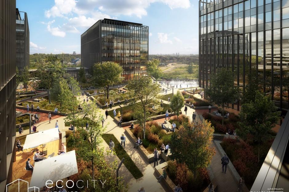 Pierwsze biurowce kompleksu ECO City Katowice gotowe w 2023 roku