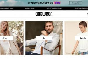 Answear.com planuje wejść na co najmniej dwa nowe rynki w 2022 roku