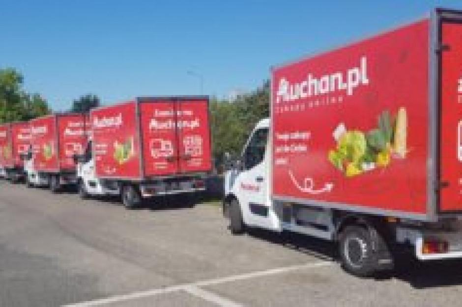 Auchan dowiezie zakupy również w Poznaniu