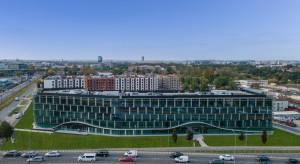 Trwa budowa biurowca Ocean Office Park B w Krakowie. Zobacz wideo!
