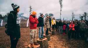 Torus z akcją sadzenia drzew