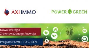 Axi Immo z zielonym manifestem