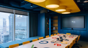 14 pięter biur - tak wygląda Centrum Rozwoju Technologii Google Cloud w The Warsaw Hub
